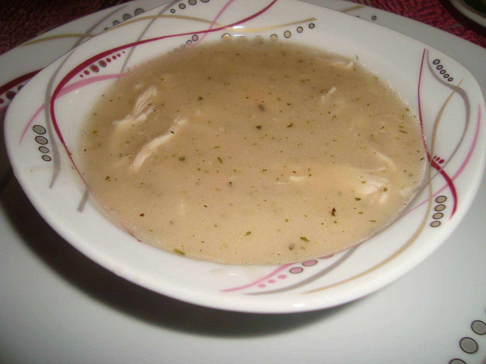 Sütlü Tavuk Çorbası Tarifi- Çorba Tarifleri