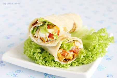 Tortilla Chickens Wrap