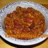 Aci Biber Soslu Barbunya Yemegi Chili Con Carne