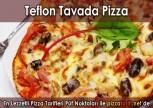Annemin Kolay Pizzası Teflon Tavada Tarifi