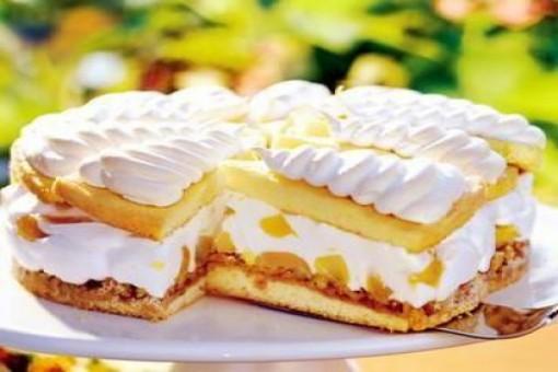 Bezeli Böğürtlenli Pasta