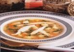 Buğdaylı Tavuk Çorbası 8 Kişilik Tarifi