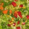 Bulgurlu Yeşil Salata Tarifi