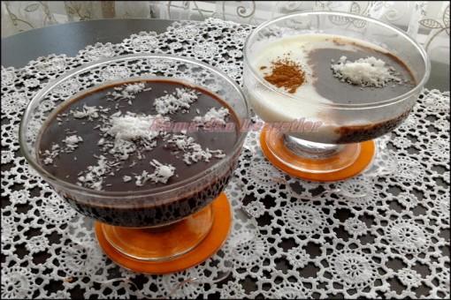 Cikolatali Sütlac