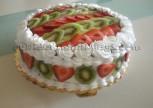 Çilekli Kivili Alman Pastası Tarifi