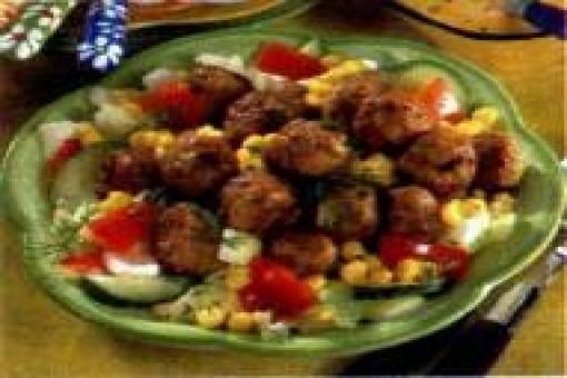 Diyet Köfteli Salata