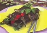 Dizme Patlıcan Kebabı 4 Kişilik Tarifi