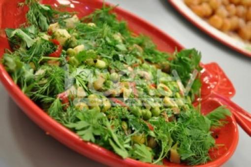 Enginarlı Sebze Salatası