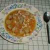 Fasulyeli Tavuk Çorbası 4 Kişilik Tarifi
