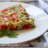 Fırında Brokolili Omlet