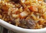 Fırında Etli Pirinçli Tart Tarifi
