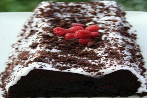 Frambuazlı Çikolatalı Kek