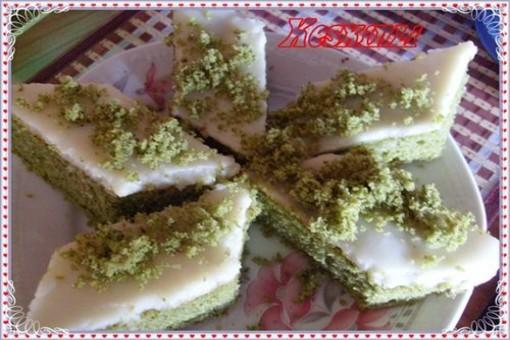 Ispanaklı Gazozlu Islak Kek