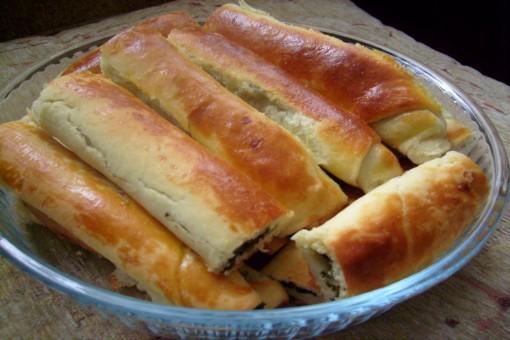Ispanaklı Mayalı Börek