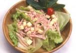 Jambonlu Salata Tarifi