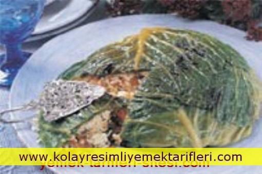 Lahana Bohçalı Pilav