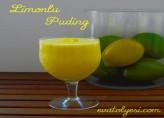 Limonlu Puding