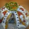 Meyveli sürpriz pasta Tarifi