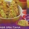 Patates Cipsli Omlet Tarifi