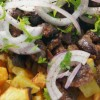 Patates Püreli Ciğer Tava Tarifi