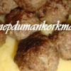 Patates Püreli Misket Köfte Tarifi