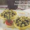 Patates Yuvasında Zeytinyağlı Bezelye Tarifi