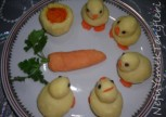 Patatesli Civcivler Ve Patates Çanağında Tarifi