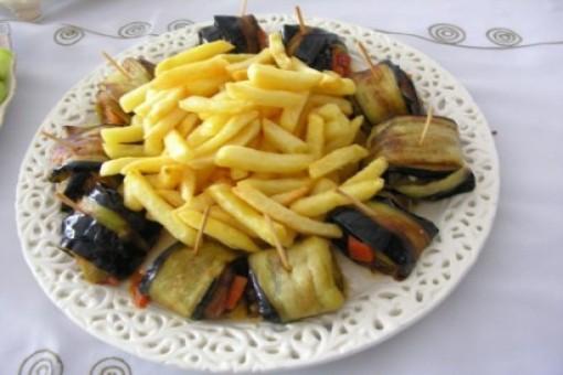 Patatesli Patlıcan Sarma