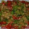 Patlican Ve Biber Közlemeli Salata