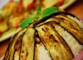 Patlıcanlı Kuzu Etli Pilav