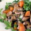 Pirinçli Mantar Salatası Tarifi
