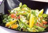 Pirinçli Portakal Salatası Tarifi