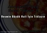 Pizza Ançuezli Tarifi