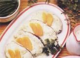Portakal ve Yoğurt Soslu Balık