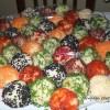 Renkli Patatesli Toplar