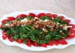 Rokalı Tulum Peynirli Salata Tarifi