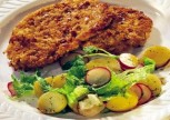 Salata Ve Hindi Şnitzel Tarifi