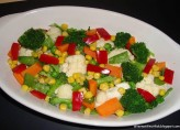 Sebzeli Brokoli Salatası