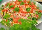 Sicak Yesil Salata