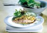 Soğan Kremalı Somon Balığı Tarifi