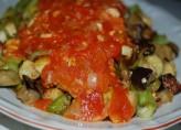 Soğanlı domates sosu
