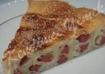 Sosisli Lor Peynirli Börek Tarifi