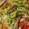 Susamlı Soslu Deniz Ürünleri Salatası Tarifi
