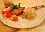 Tavuklu Arpacık Soğanlı Pilav Tarifi