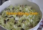 Üzümlü Beyaz Lahana Salatası Tarifi