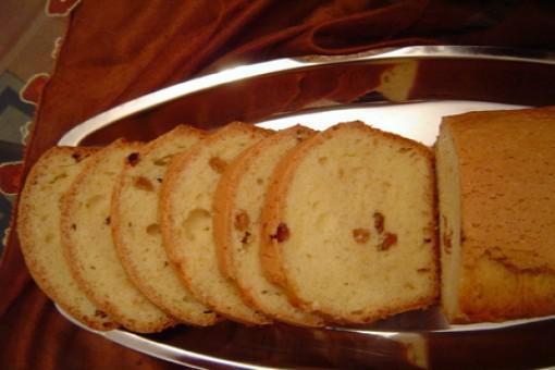 Üzümlü Yağsız Kek