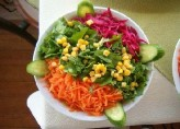 Vejetaryen Salatası