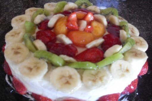 Yaban Meyveli Yas Pasta Veya Chesscake Rote Grütze Torte V