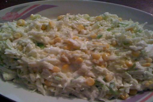 Yeşil Lahana Salatası