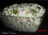 Yoğurtlu Makarna Salatasi